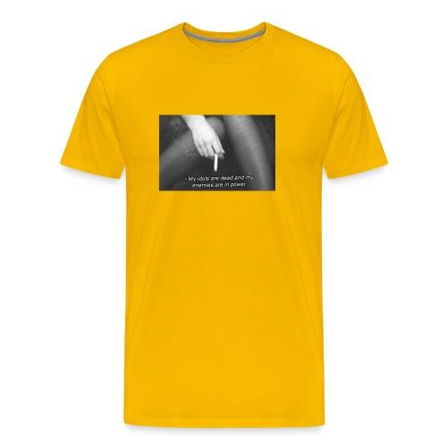 Idols (2016 was bad) - Premium T-skjorte for menn