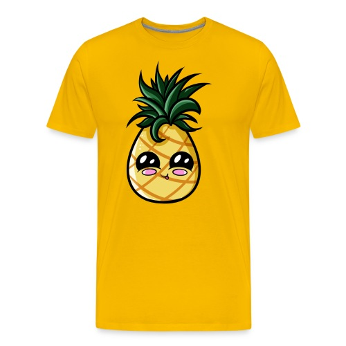 Ananas Kawaii - T-shirt Premium Homme