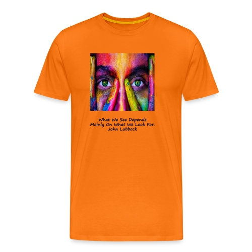 Seeing - Men's Premium T-Shirt