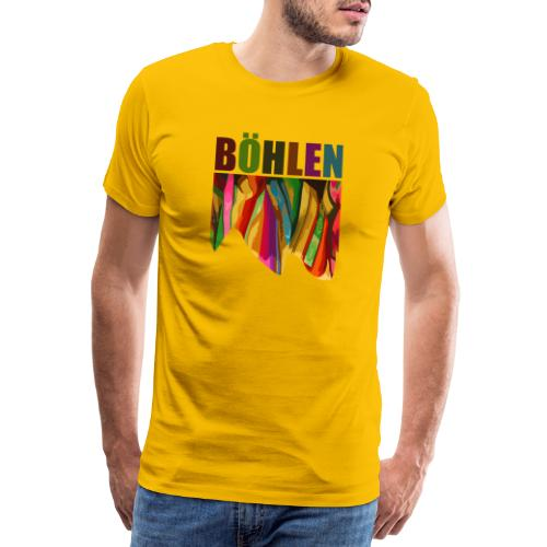Böhlen bunt - Männer Premium T-Shirt