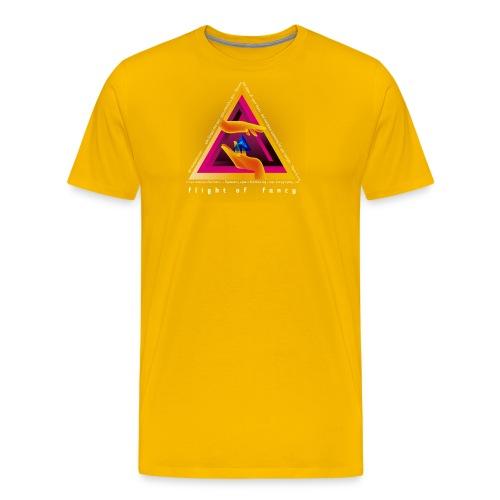 Flight Of Fancy orange - T-shirt Premium Homme