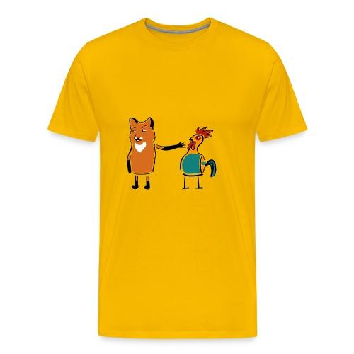 hahn cock - Männer Premium T-Shirt