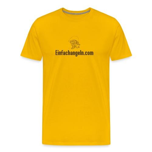 Einfachangeln Teamshirt - Männer Premium T-Shirt