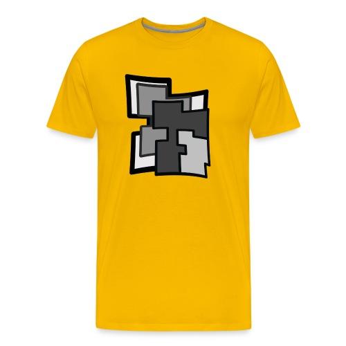 Abstraction - Camiseta premium hombre