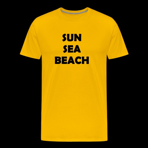 Sun Sea Beach - T-shirt Premium Homme