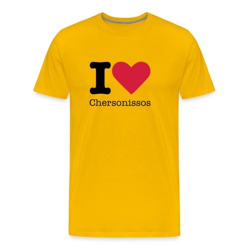 I Love Chersonissos - Mannen Premium T-shirt