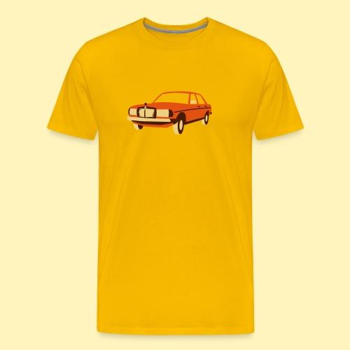 W123 Oldtimer - Männer Premium T-Shirt