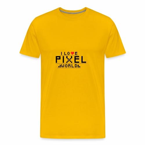 piexelworld png - Koszulka męska Premium