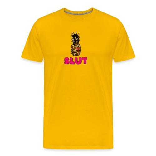 Pineapple slut - Herre premium T-shirt