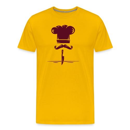 logo kitchen - Camiseta premium hombre