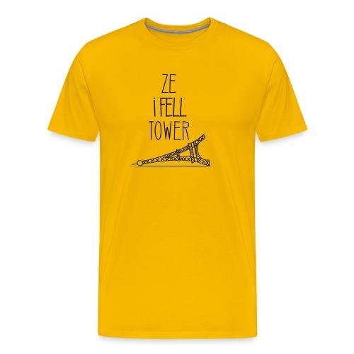 Ze I Fell Tower - T-shirt Premium Homme