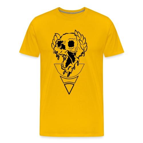 crownded skull - Men's Premium T-Shirt