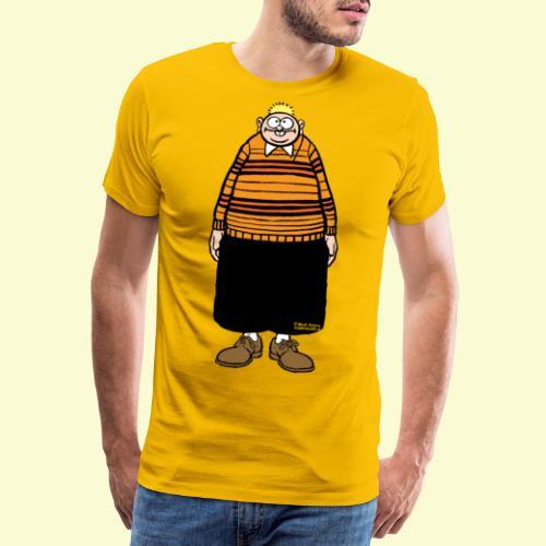 DIRKJAN Staand Solo - Mannen Premium T-shirt