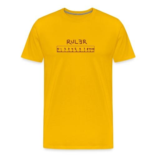 Ruler 3 - Men's Premium T-Shirt