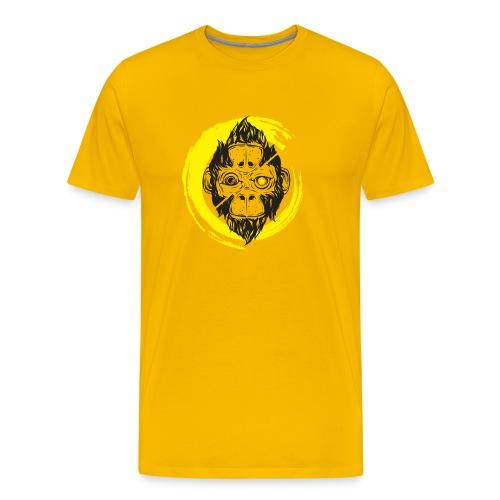 Scimmia_cambia_4 monkey - Maglietta Premium da uomo
