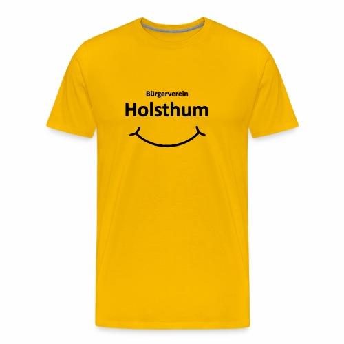 Bürgerverein Holsthum smilye - Männer Premium T-Shirt