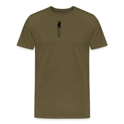 coltello knife - Maglietta Premium da uomo