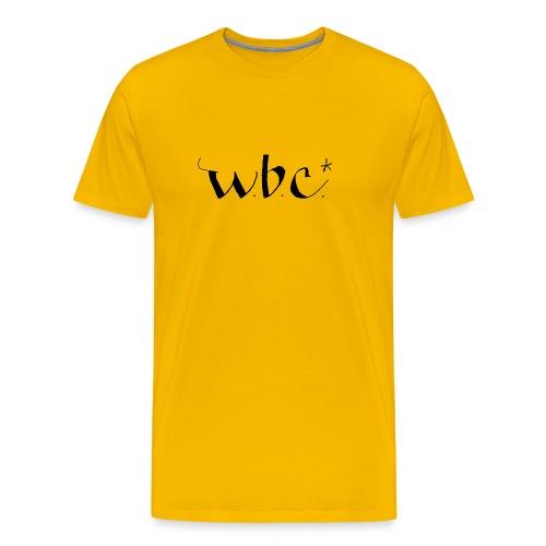 wbc3 - Premium T-skjorte for menn