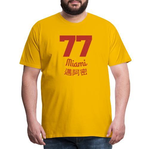 77 miami - Männer Premium T-Shirt