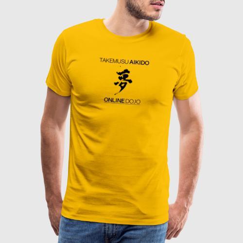 YUME black - Men's Premium T-Shirt