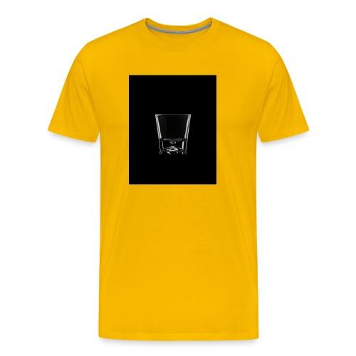 Whisky glass - Koszulka męska Premium