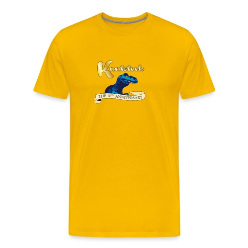 KnutstockAnniversaryBanner Thyranathaurus - Männer Premium T-Shirt