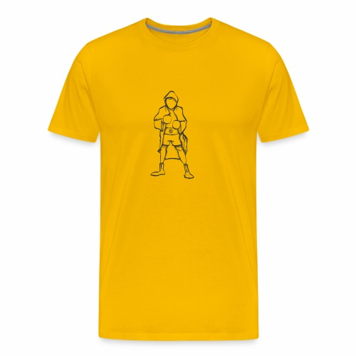 Hero - Premium-T-shirt herr