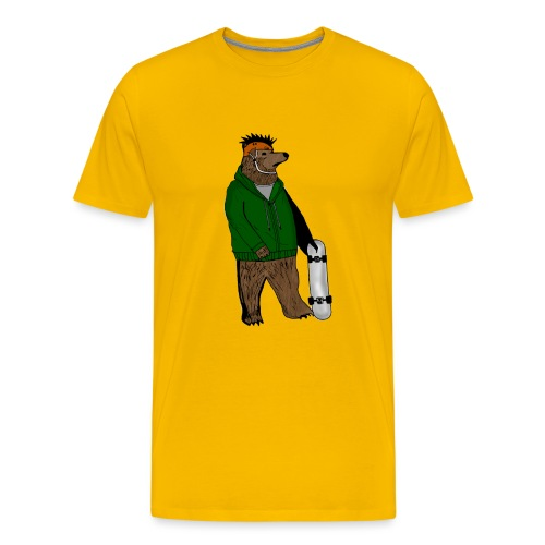 Skate Bjorn - Men's Premium T-Shirt