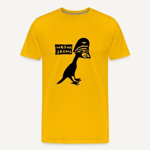 wronaskona - Koszulka męska Premium