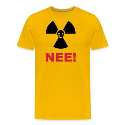 T-Shirt Mann Atom Nein Danke 34 © by kally ART® - Männer Premium T-Shirt
