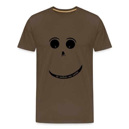Paraglider Smiley - Men's Premium T-Shirt