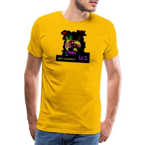 Chemise tshirt Crazy Lapin, punk rock drole rigolo - T-shirt Premium Homme