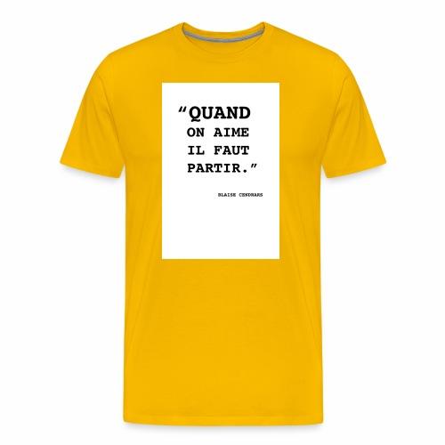 Cendrars#01 - T-shirt Premium Homme