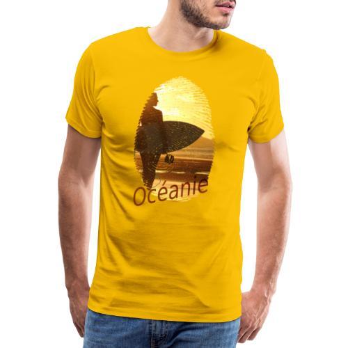 Océanie Pacifique Sud - T-shirt Premium Homme