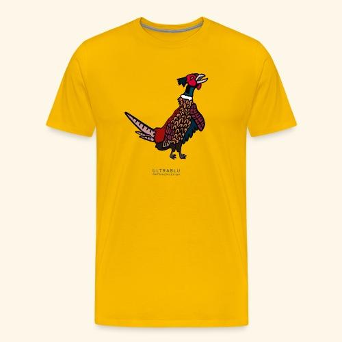 The Pheasant - Maglietta Premium da uomo