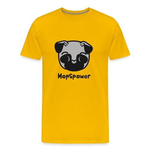 Mopspower - Männer Premium T-Shirt