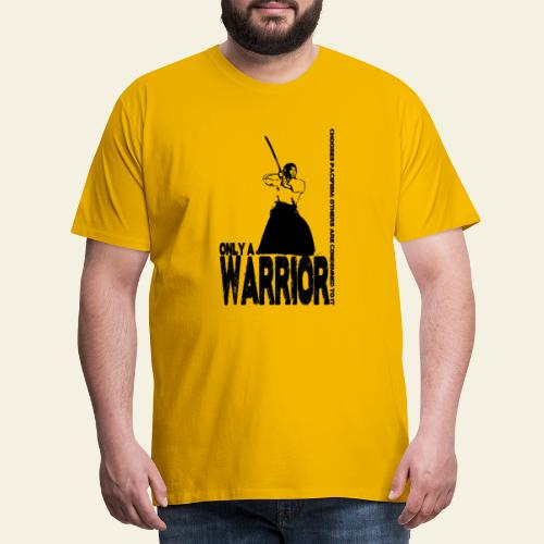 warrior - Herre premium T-shirt