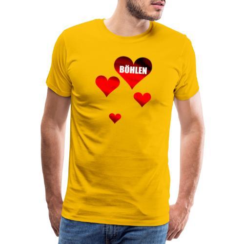Böhlen ist herzlich. - Männer Premium T-Shirt