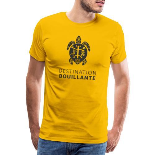 Destination Bouillante simple - T-shirt Premium Homme