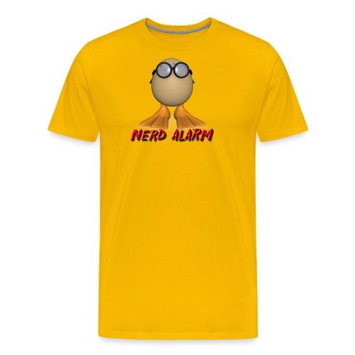 nerd alarm - Männer Premium T-Shirt