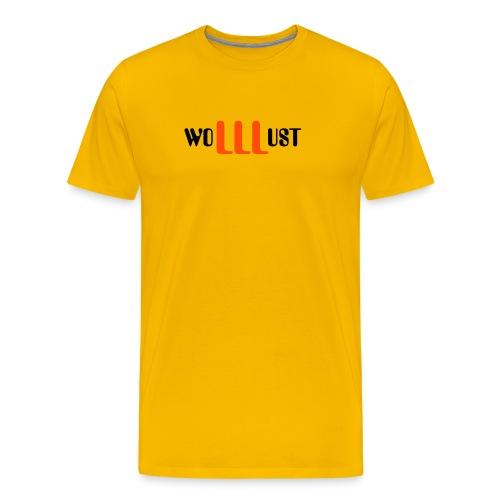 wolllust - Männer Premium T-Shirt