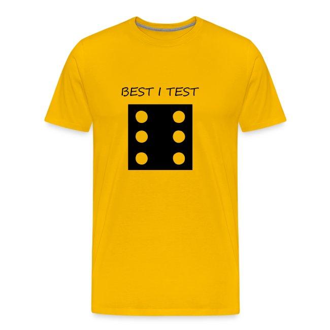 Test av skjorter Menn