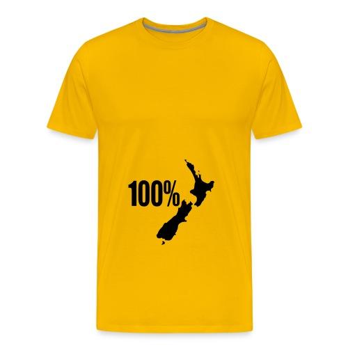 100 NZ - Men's Premium T-Shirt
