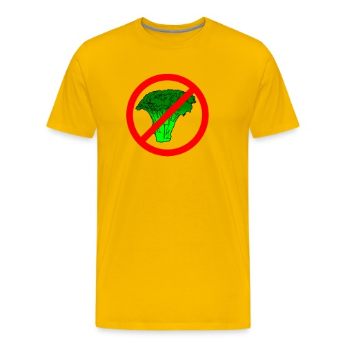 no broccoli allowed - Men's Premium T-Shirt