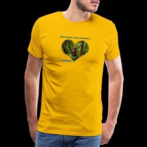 Oachkatzl hellblau - Männer Premium T-Shirt