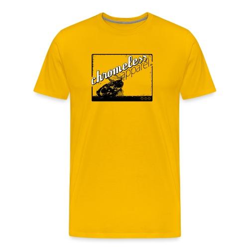 CHROMELESS MOORMASCHINE - Männer Premium T-Shirt