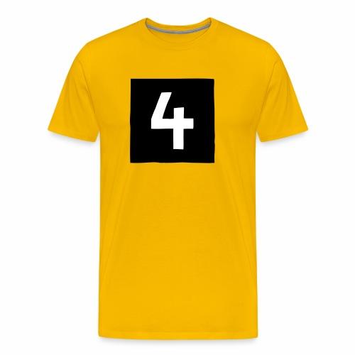4 mantteli Racing Coat 4 - Miesten premium t-paita