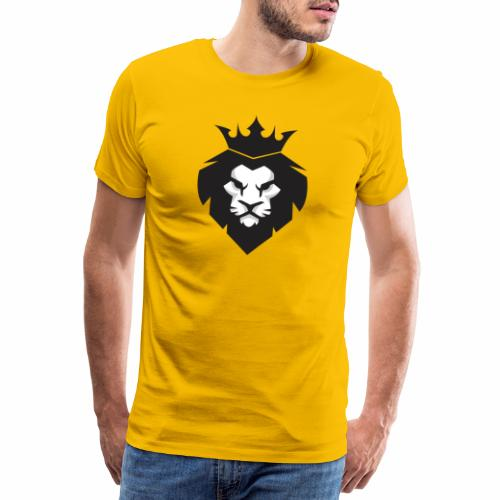 King of the Jungle Lion Head - Men's Premium T-Shirt