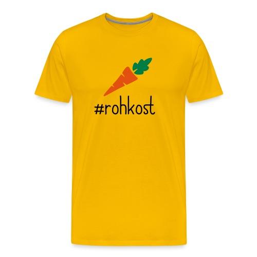 hasthtag rohkost karotte - Männer Premium T-Shirt