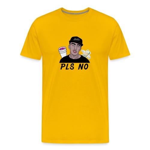 PLS NO [S GANG] - T-shirt Premium Homme